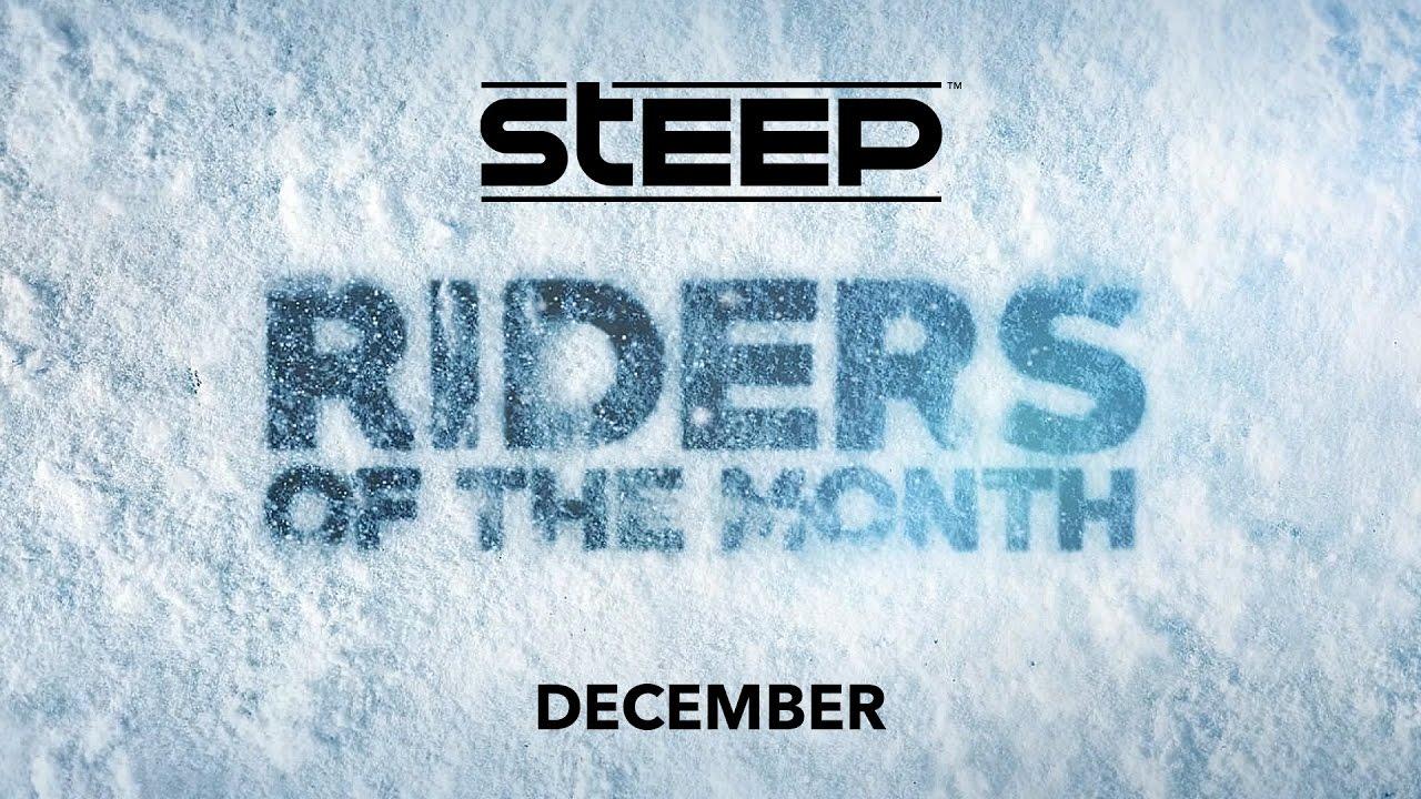 Steep: Riders del mese di Dicembre