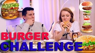 БУРГЕР ВЫЗОВ! | BURGER CHALLENGE! | SWEET HOME