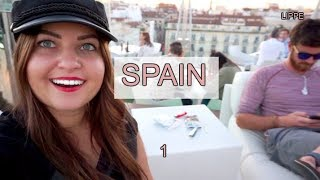 Hanging Out With Spaniards!   Spain Part 1/ VLOG