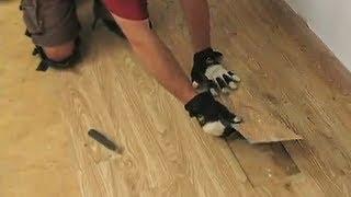 How To Install Loose Lay Vinyl Plank Flooring + Special Installation Tips
