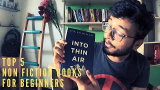 Best Non-Fiction Books To Read For Beginners    Book Recommendation    Top 5 Non Fiction Books