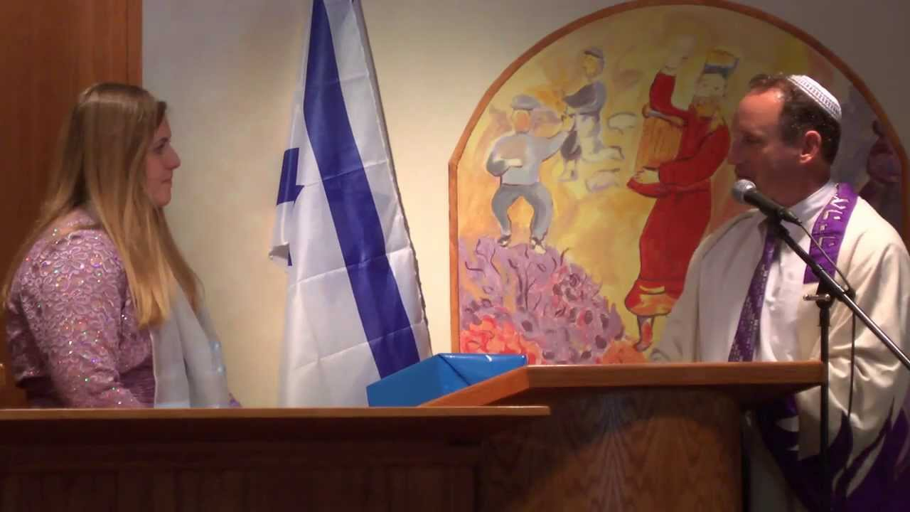 Bat Mitzvah Ceremony
