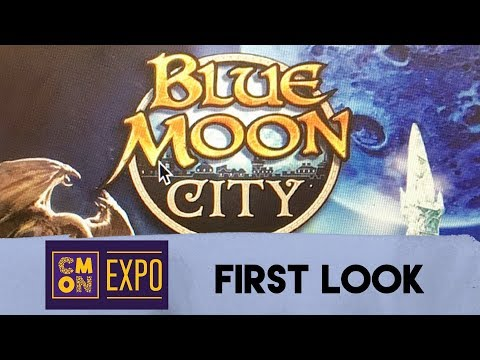 First Look at Blue Moon City from CMON - with Zee Garcia
