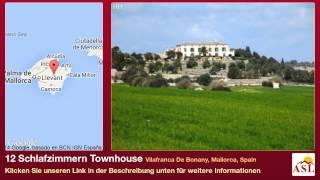 preview picture of video '12 Schlafzimmern Townhouse zu verkaufen in Vilafranca De Bonany, Mallorca, Spain'