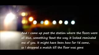 All Of My Trains - Robert Francis (Lyrics) Deadfall 2012