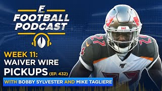 Fantasy Football Waiver Wire Pickups: Week 11 (Ep. 432)