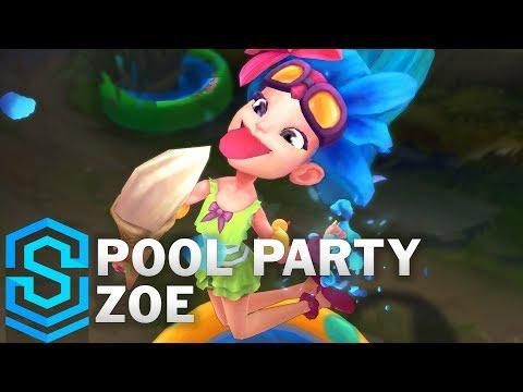 Zoe Tiệc Bể Bơi