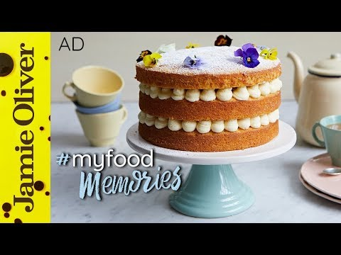 Video Lemon Sponge Cake | Cupcake Jemma | #MyFoodMemories | AD