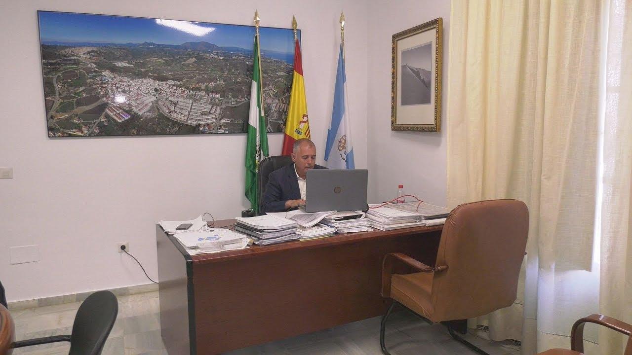Reunión de alcaldes con la Junta