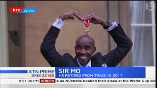 Mo Farah knighted by the queen