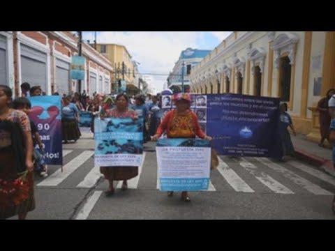 Familias de desaparecidos en Guatemala exigen al Congreso una Comisión de Búsqueda