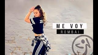 Zumba  Me Voy (CumbiaReggaeton)  Rombai  Choreo By Antonia Natascha
