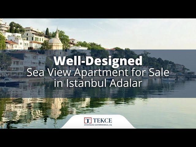 Luxury Apartment Intertwined with Nature in Istanbul Adalar