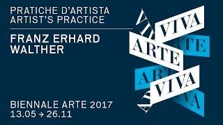 Congratulations Franz Erhard Walther winner of the Golden Lion for best artist