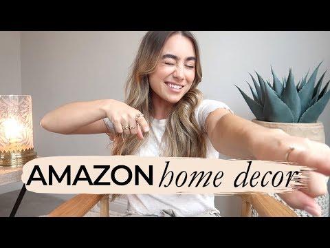 AMAZON HOME DECOR HAUL! Julia Havens