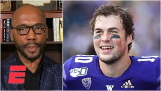 The Colts are the perfect situation for Jacob Eason – Louis Riddick | 2020 NFL Draft