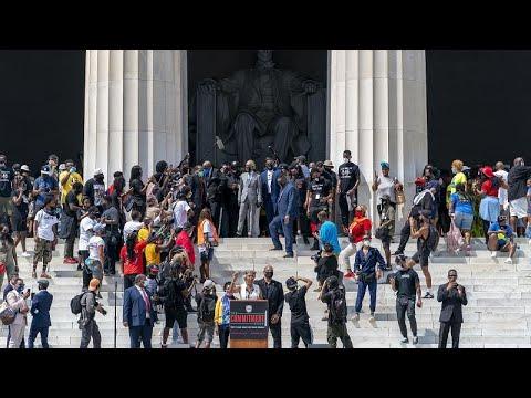 Ουάσινγκτον: Μεγάλη συγκέντρωση κατά της αστυνομικής βίας και του ρατσισμού…