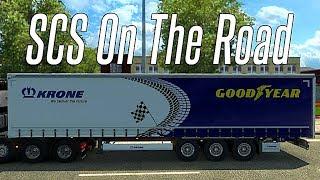 НОВЫЙ ИВЕНТ. SCS ON THE ROAD - Euro Truck Simulator 2 (1.31.2.2s)