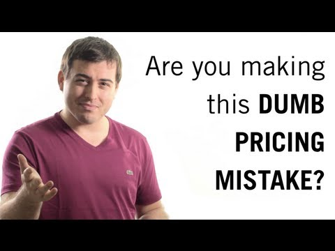 Don't Make This Pricing Mistake: How to Price Your Products & Services