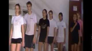 preview picture of video 'Турнир в Зеренде по бадминтону'