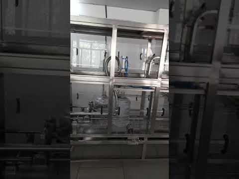 20 Litre Jar Fully Automatic Rinsing Filling Capping Machine