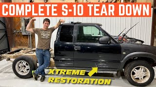 FREE Chevy S-10 Xtreme Gets A FRAME OFF Restoration