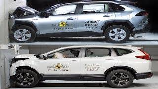 2019 Toyota RAV4 vs 2019 Honda CR-V – Crash tests