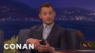 <b>Elijah Wood </b>Explains Why Witches Use Broomsticks   CONAN On TBS
