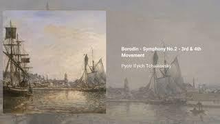 Voyevoda Overture & The tempest Op. 18, Borodin - Symphony No. 2