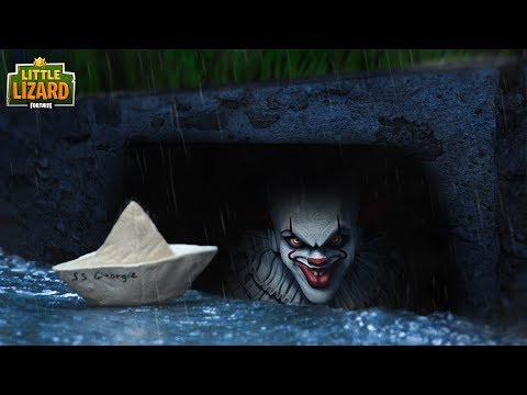 going into its sewer it x fortnite