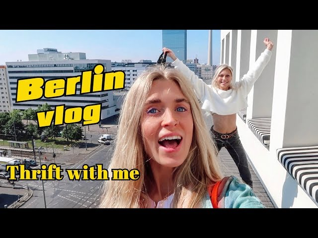 Thrift With Me In Berlin Vlog