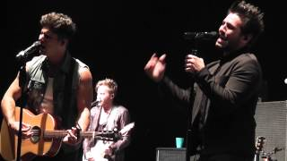 """Dan + Shay - """"Party Girl"""" Live 2014 WI"""