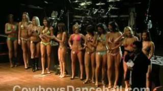 12/03/08 Cowboys Dancehall Bikini Contest