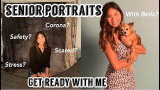 Get ready with me for my senior pictures + Mini montage:)