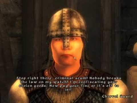 STOP RIGHT THERE CRIMINAL SCUM! :: The Elder Scrolls V: Skyrim