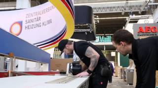 ISH 2015 Making Of Aufbau am 09.03.2015