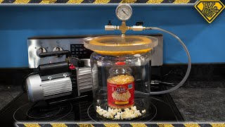 Does Popcorn Pop in a Vacuum?
