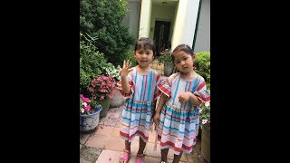 Pretty Twins Rahui and Rayul, Are They Look Alike Their Mom SES Shoo FMV