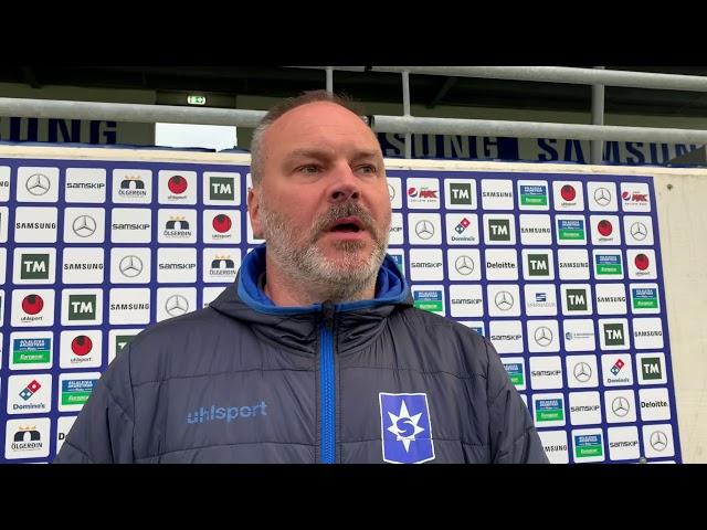 Kristján Guðmunds:  Seinni hálfleikurinn olli vonbrigðum