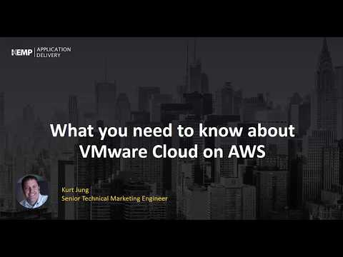 What You Need to Know About VMware Cloud on AWS