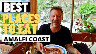 BEST PLACES TO EAT ON THE AMALFI COAST ITALY | Italy Travel Vlog