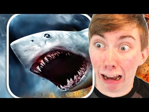 SHARKNADO: THE VIDEO GAME (iPhone Gameplay Video)