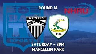 2018 NHRU Round 14 Premier 1 - Maitland v Merewether Carlton | Kholo.pk