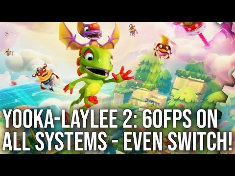 Yooka-Laylee And The Impossible Lair: Spotless on Switch, Superb on PS4, Xbox One and X!
