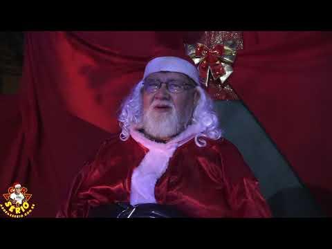 Papai Noel já chegou na Casa do Saci Noel de Juquitiba