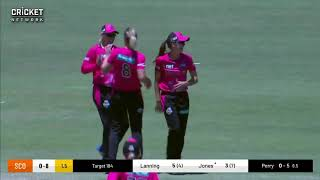 Sydney Sixers v  Perth Scorchers Highlights in WBBL