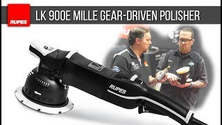 RUPES LK 900E Mille Gear-Driven Polisher w/ Jason Rose | DETAILS WITH LEVI