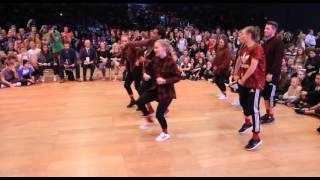 ART FORCE vs CHEESECAKE | Hip Hop Team Battle | IDO World Hip Hop Championship 2015