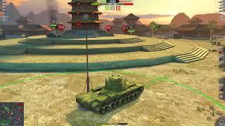 WOT Blitz Мастер на КВ-4 и ИС-5 в одном бою