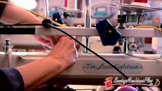 Tin Lizzie 18 Long Arm Quilting Machine W/ Stitch Regulator & Frame